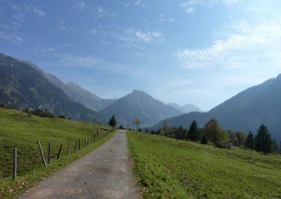 Entspannen und abschalten im Hintersteiner Tal